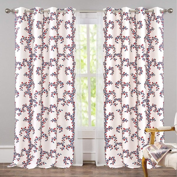 Shop DriftAway Angelena Floral Botanical Pattern Window
