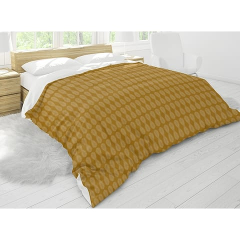 FRONDS GOLD Comforter by Kavka Designs