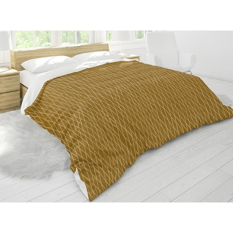 CHAIN LINK GOLD Comforter by Kavka Designs