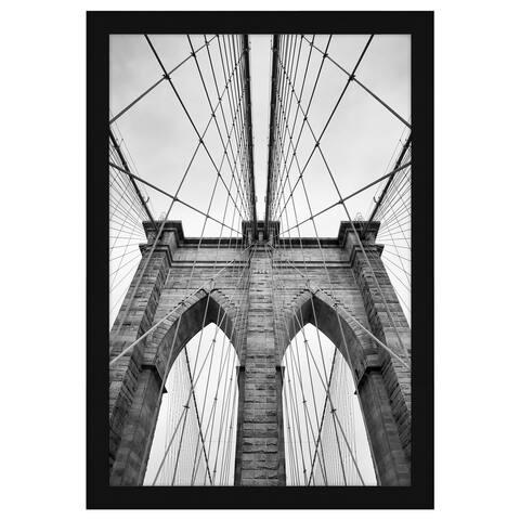 Americanflat 20x30 Black Poster Frame - Shatter-Resistant Plexiglass - Hanging Hardware Included