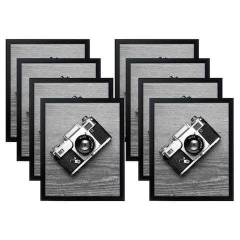 Americanflat 8 Pack - 16x20 Poster Frames, Black