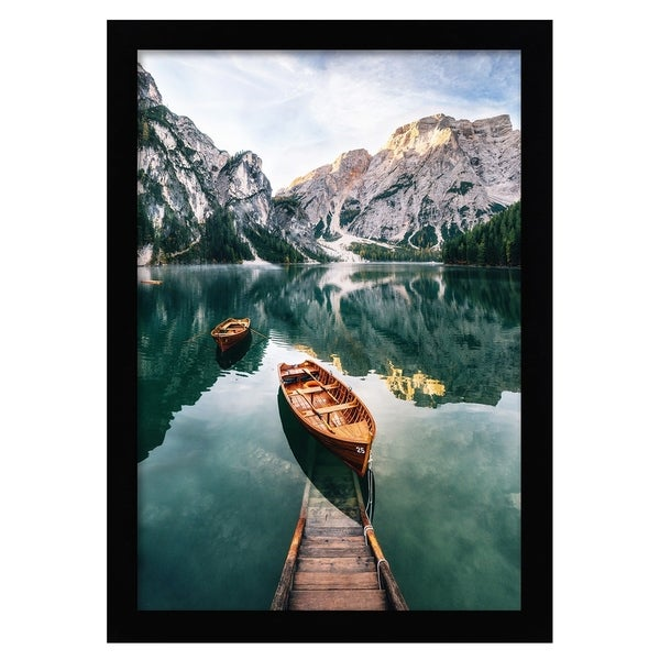 Americanflat 12x18 Black Poster Frame - Tempered Glass. Opens flyout.
