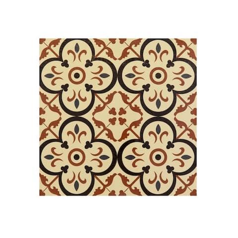 Retro 12x12 Self Adhesive Vinyl Floor Tile-Burch-20 Tiles/20 sq ft