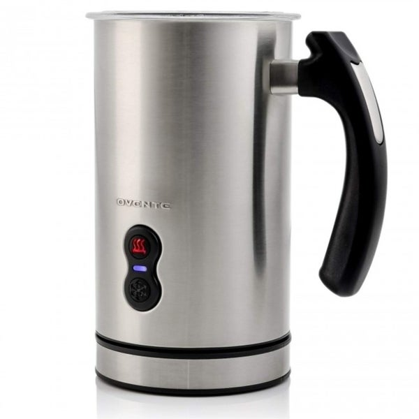 Ovente Electric Milk Frother 4 oz for Frothing & Heating Whisks (FR3608 Series)