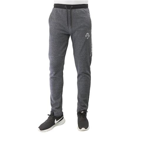 Villians of Virtue Men's Gym Jogger Sweatpants Athletic Running Sports Training Workout Track Pants Large Grey - L