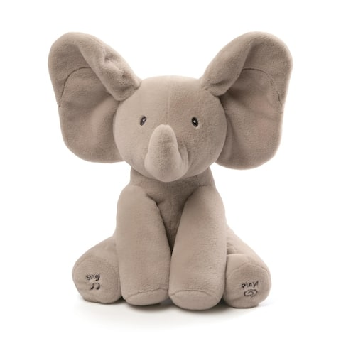Gund Animated Flappy The Elephant 12-inch Plush Stuffed Animal