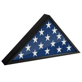 Americanflat Flag Case Frame - Display Case - Fits 5x9.5' Flag
