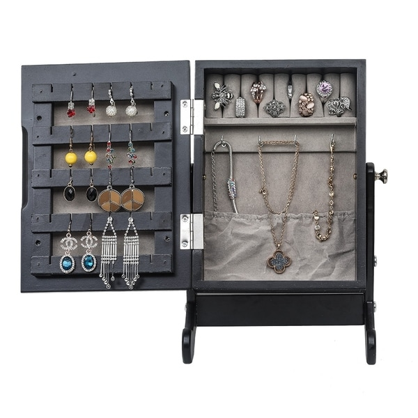 Jewelry Armoire Cabinert with Mirror