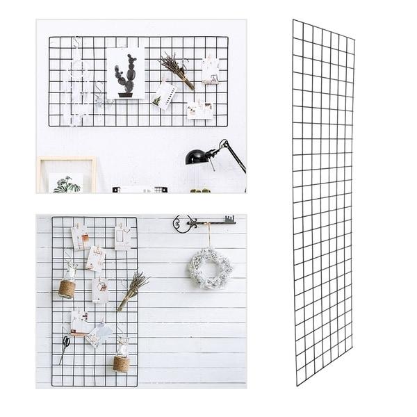 Grid Wire Panel Board , Wire Grid Tower Floor Standing Display Rack