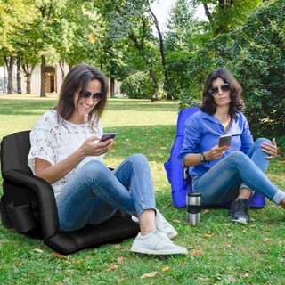 Link to Stadium Seat Portable Chair w/Armrest & Padded Cushion Similar Items in Camping & Hiking Gear