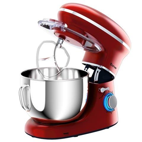 6.3Qt Electric Tilt-Head Food Stand Mixer 6 Speed 660W - 6.3 Quart