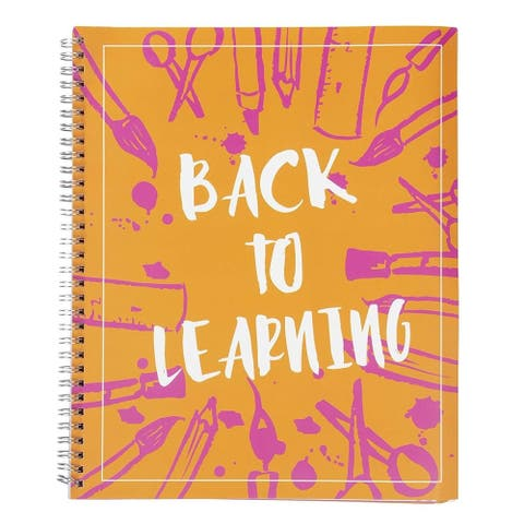 "Academic Planner and Calendar, Yearly Agenda, Spiral Twin-Wire Binding, 9"" x 11"""