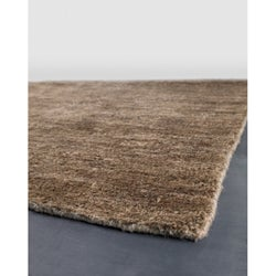 Artist's Loom Hand-woven Casual Solid Natural Eco-friendly Jute Rug (2'6x7'6)