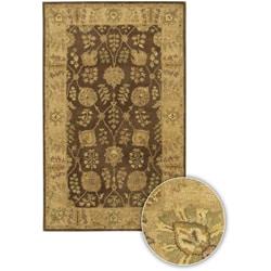 Artist's Loom Hand-tufted Traditional Oriental Wool Rug (5'x7'6) - Thumbnail 0