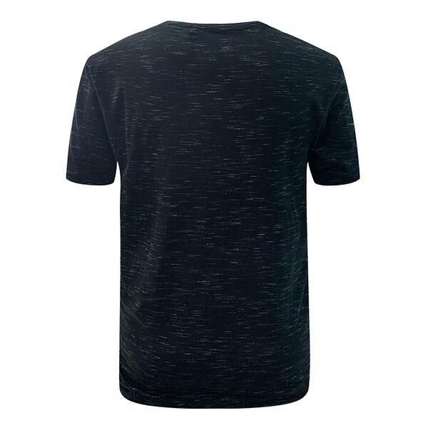 Villians of Virtue Solid Color Tee for Men Athletic Cotton T-Shirt Short Sleeve Medium Black