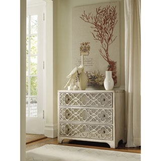 Soft Silvery Gold 3-drawer Decorative Chest