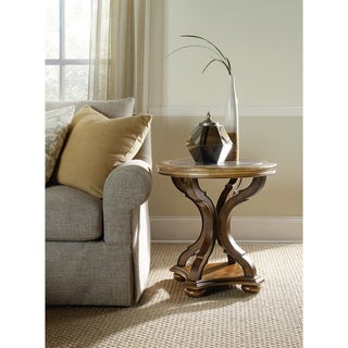Lighter Toffee and Bluestone Top End Table