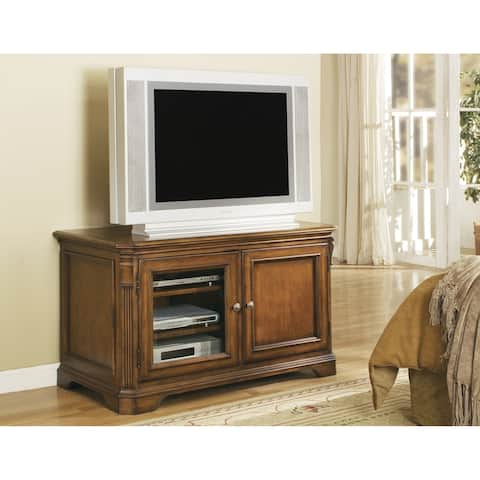 Cherry Wood 44-inch Entertainment Console