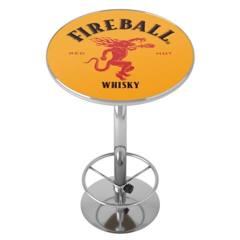 Fireball Chrome Pub Table