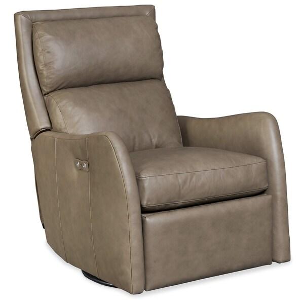 Aspen Lenado Leather Power Swivel Recliner Chair