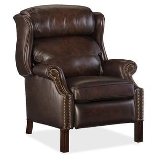 Dark Brown Sedona Vortex Leather Recliner Chair