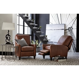 Natchez Brown Balmoral Albert Leather Recliner Chair
