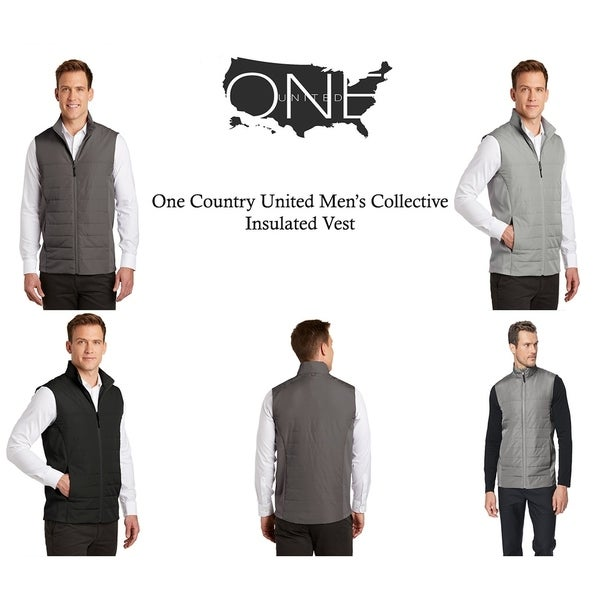 One Country United Mens Insulated Vest
