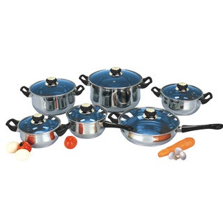 Bluestar 12-piece Stainless Steel Cookware Set