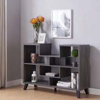Furniture of America Austy Modern 6-Shelf Console Table
