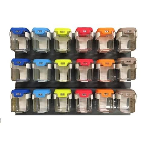 Mobin 7.1oz 6 Bin Multi-Color Storage Unit - 3 pack