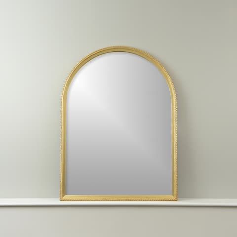 Aurora Home Arch Mirror with Notched Frame - 30W X 40H