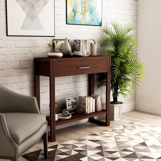 Link to Porch & Den Sewell Modern 1-drawer Console Table Similar Items in Living Room Furniture