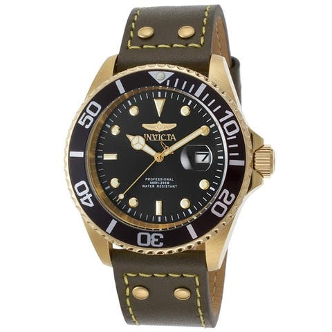 Invicta Men's Pro Diver 22075 Gold Watch