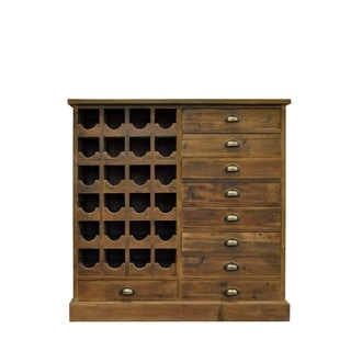 Rutherford Reclaimed Wine Cabinet