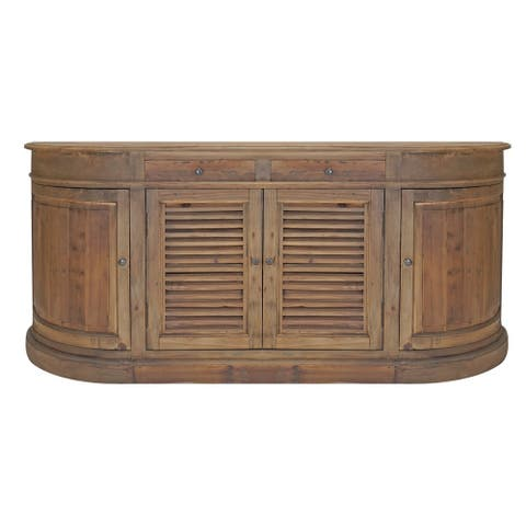 Carolina Reclaimed Hand Carved Shutter Buffet
