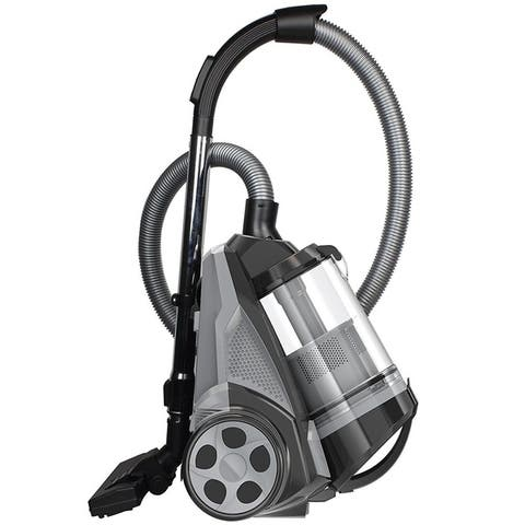 Ovente Bagless Canister Vacuum Cleaner 1400 Watts with HEPA Filter (ST2620 Series)