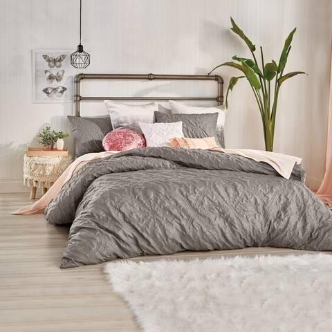 Porch & Den Sadie Velvet 3-piece Comforter Set