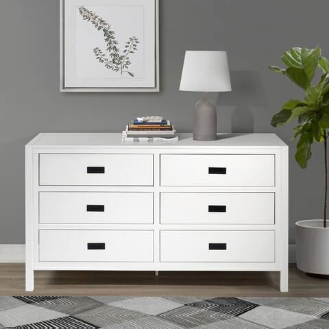 Carson Carrington Modern 6-Drawer Storage Dresser