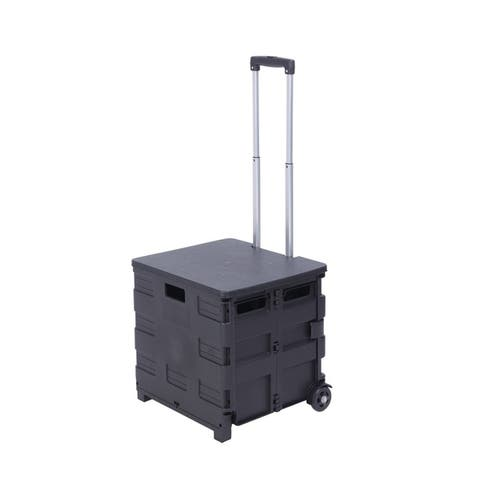 2 Wheels Rolling Utility Cart - 8' x 11'