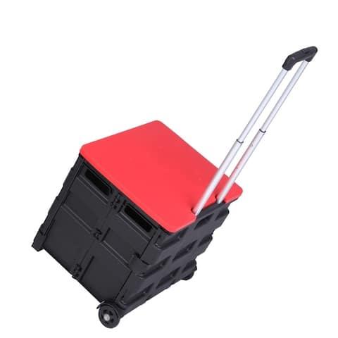 2 Wheels Rolling Utility Cart - 8' x 11'