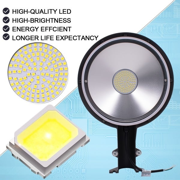 15-90W Outdoor LED Wall Pack Light Garage Lamp Waterproof Fixture Mount Lighting