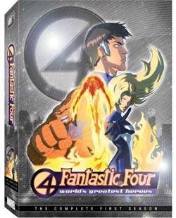 Fantastic Four: Worlds Greatest Heroes Complete Season 1 (DVD)