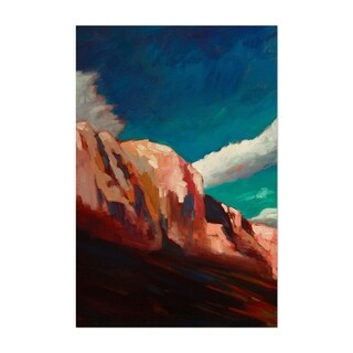 Noir Gallery Mountains Nature Painting Unframed Art Print/Poster