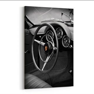 Noir Gallery Porsche 356 Roadster Canvas Wall Art Print