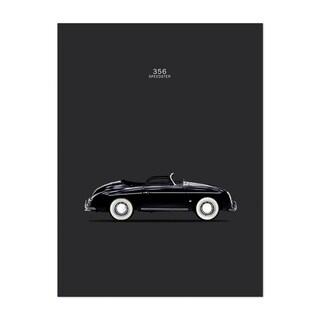 Noir Gallery Porsche 356 Car Unframed Art Print/Poster