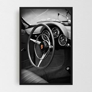 Noir Gallery Porsche 356 Roadster Framed Art Print