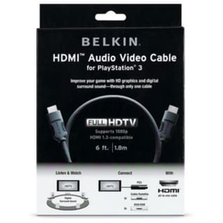 Belkin HDMI to HDMI Audio/Video Cable
