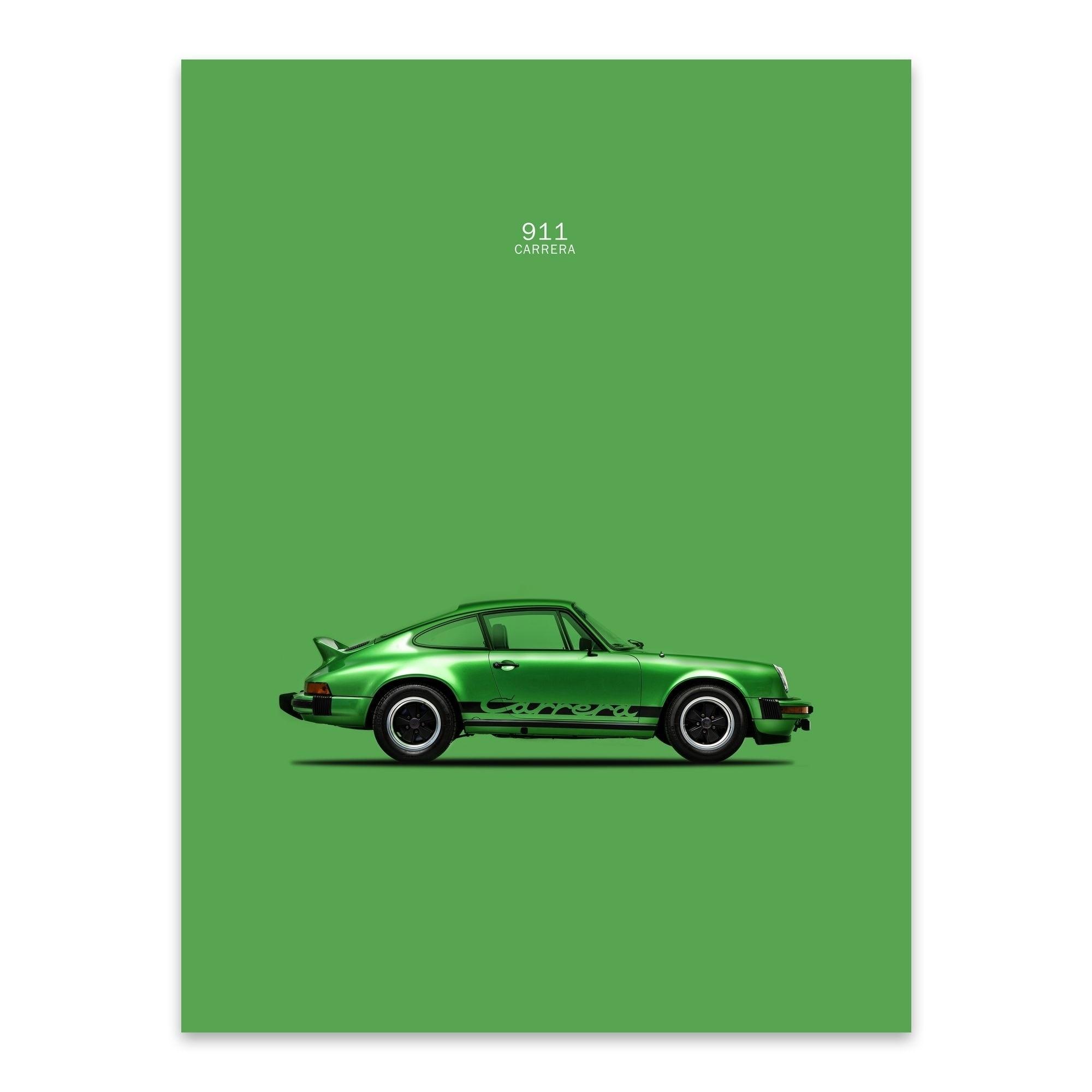 "Porshe Sports car poster wall art home decor photo print 24x24/"" inches"