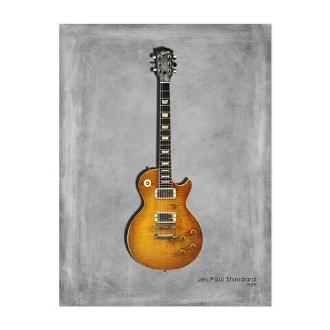 Noir Gallery Music Guitar Gibson Les Paul Unframed Art Print/Poster