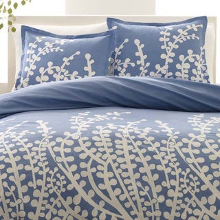 The Gray Barn Pinewood French Blue 3-Piece Duvet Cover Set